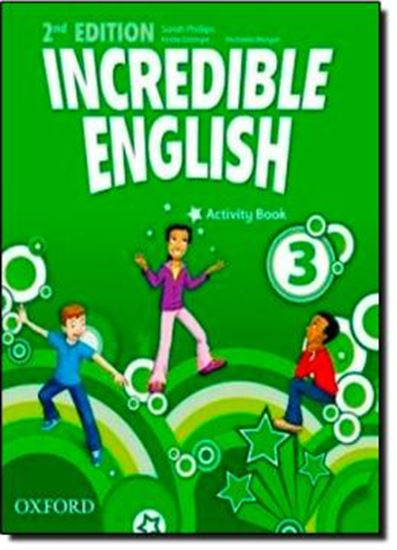 Picture of INCREDIBLE ENGLISH 3 ACTIVITY BOOK - SECOND EDITION