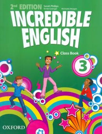 Picture of INCREDIBLE ENGLISH 3 CLASS BOOK - SECOND EDITION