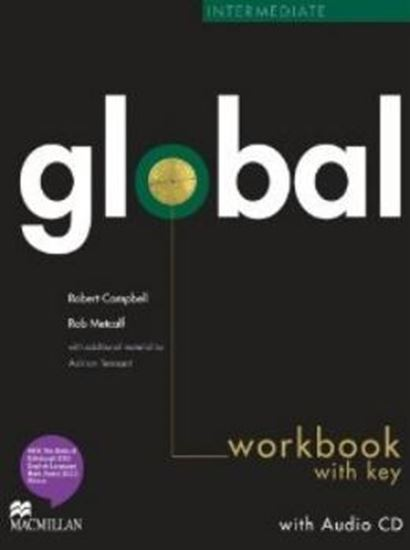Picture of GLOBAL INTERMEDIATE WORKBOOOK AND CD WITH KEY