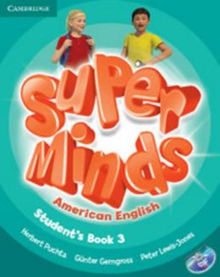 Picture of SUPER MINDS AMERICAN ENGLISH 3 - STUDENT´S BOOK WITH DVD-ROM