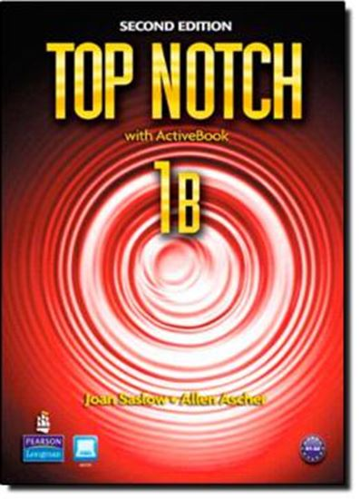 Picture of TOP NOTCH 1B MYLAB - 2ND ED
