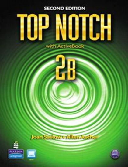 Picture of TOP NOTCH 2B SB SPLIT & MYLAB WITH ACTIVE BOOK CD-ROM - 2ND ED