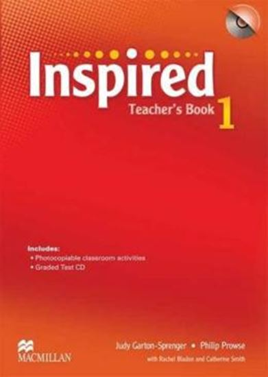 Picture of INSPIRED 1 TEACHER´S BOOK WITH TEST CD