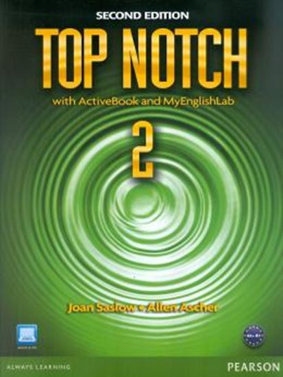 Picture of TOP NOTCH 2 WITH ACTIVEBOOK AND MYENGLISHLAB - 2ND ED