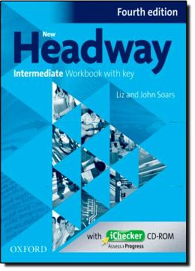 Picture of NEW HEADWAY INTERMEDIATE WORKBOOK WITH KEY & ICHECKER CDROM PACK - FOURTH EDITION