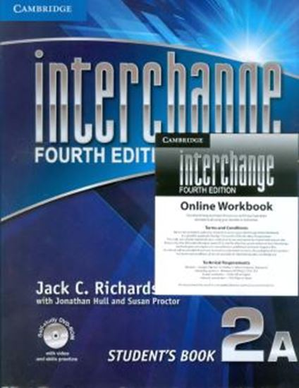 Picture of INTERCHANGE 2 STUDENTS BOOK A WITH DVD ROM  ONLINE WORKBOOK - FOURTH EDITION