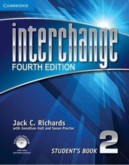 Picture of INTERCHANGE 2 STUDENTS BOOK WITH DVD ROM ONLINE WORKBOOK - FOURTH EDITION