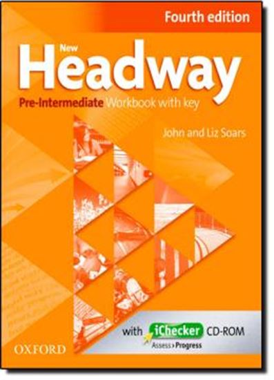Picture of NEW HEADWAY PRE-INTERMEDIATE WORKBOOK AND ICHECKER WITH KEY - FOURTH EDITION