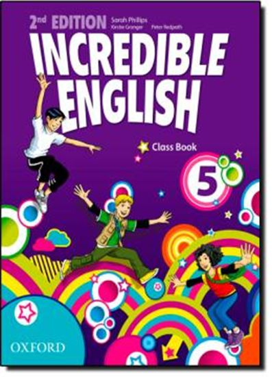 Picture of INCREDIBLE ENGLISH 5 ClASS BOOK - SECOND EDITION