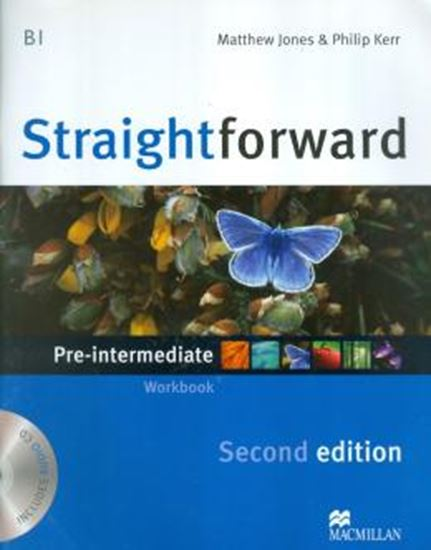 Picture of STRAIGHTFORWARD PRE INTERMEDIATE WORKBOOK WITH AUDIO CD (NO KEY)- 2ND ED