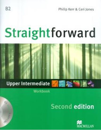 Picture of STRAIGHTFORWARD UPPER INTERMEDIATE WORKBOOK WITH CD NO KEY- 2ND ED