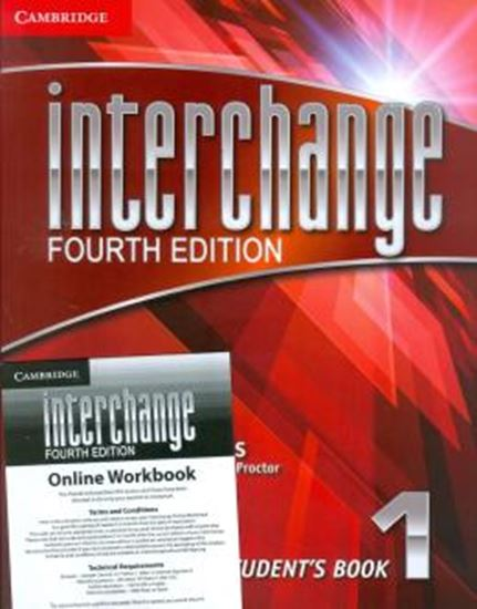 Picture of INTERCHANGE 1 STUDENTS BOOK WITH SELF STUDY DVD - ROM AND ONLINE WORKBOOK PACK - FOURTH EDITION
