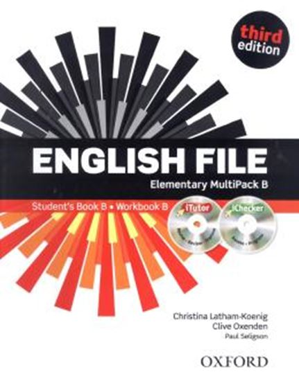 Picture of ENGLISH FILE ELEMENTARY MULTIPACK B ITUTOR AND ICHECKER - 3RD EDITION