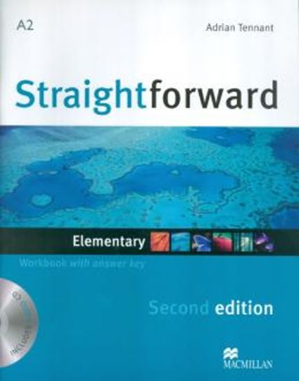 Picture of STRAIGHTFORWARD ELEMENTARY WORKBOOK WITH AUDIO CD (W/KEY) - SECOND EDITION
