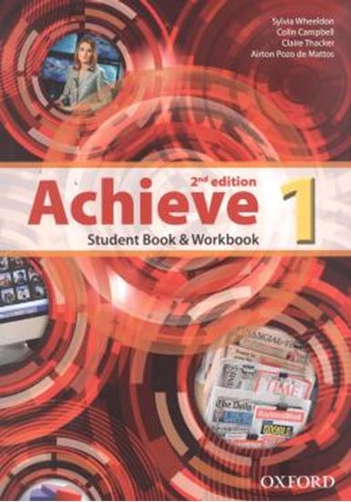 Picture of ACHIEVE 1 STUDENT BOOK & WORKBOOK - 2ND ED