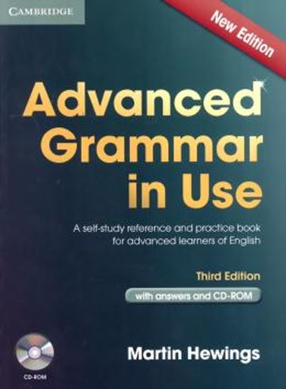 Picture of ADVANCED GRAMMAR IN USE - WITH ANSWERS AND CD-ROM - THIRD EDITION