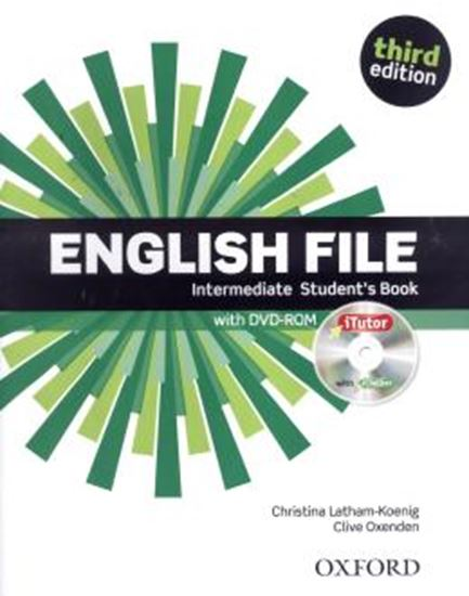 Picture of ENGLISH FILE INTERMEDIATE STUDENTS BOOK WITH ITUTOR - 3RD ED