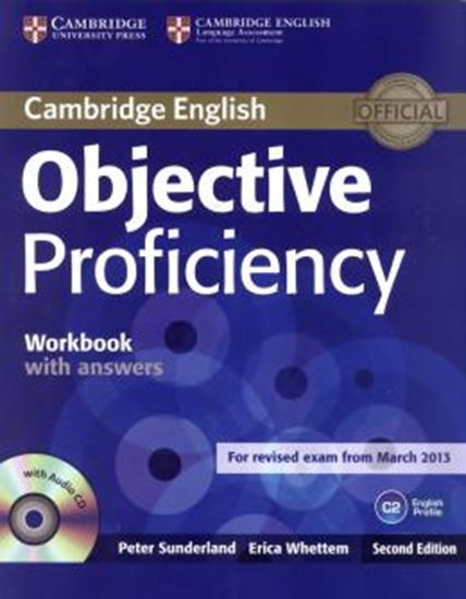Picture of OBJECTIVE PROFICIENCY WORKBOOK WITH ANSWERS AND AUDIO CD - 2ND ED