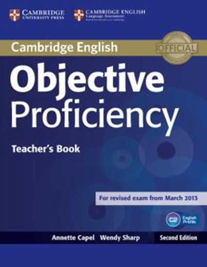 Picture of OBJECTIVE PROFICIENCY TEACHERS BOOK - 2ND ED