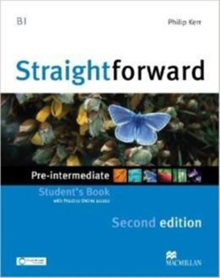 Picture of STRAIGHTFORWARD PRE - INTERMEDIATE STUDENTS BOOK WITH WEBCODE - 2ND ED