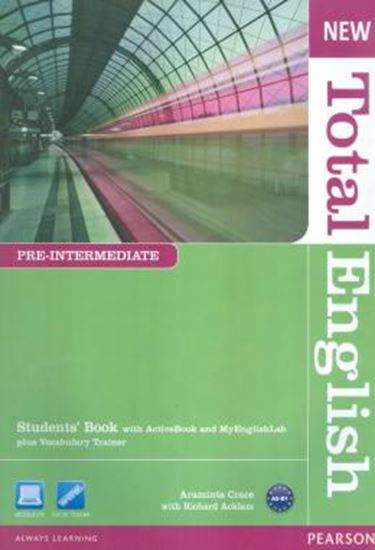 Picture of NEW TOTAL ENGLISH PRE-INTERMEDIATE 2 SB WITH ACTIVE BOOK CD-ROM & MYLAB