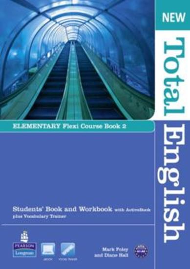 Picture of NEW TOTAL ENGLISH ELEMENTARY FLEXI COURSE BOOK 2