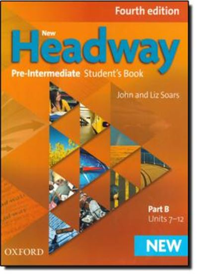 Picture of NEW HEADWAY PRE-INTERMEDIATE STUDENTS BOOK B - 4TH ED