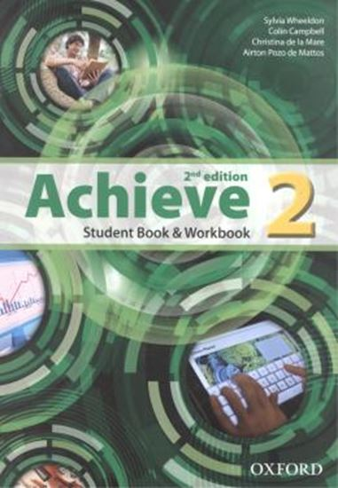 Picture of ACHIEVE 2 STUDENT BOOK / WORKBOOK - 2ND ED