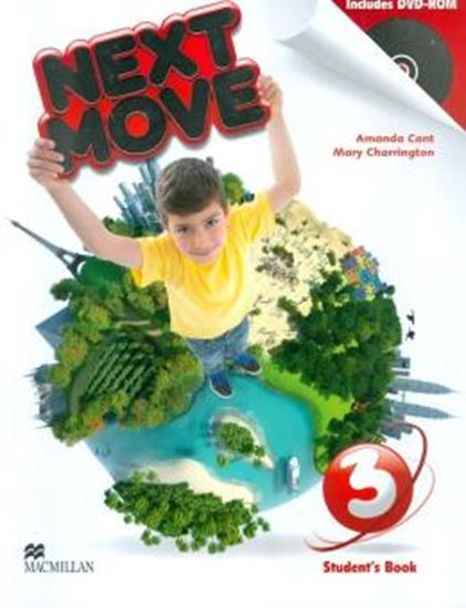 Picture of NEXT MOVE 3 STUDENTS BOOK WITH DVD-ROM
