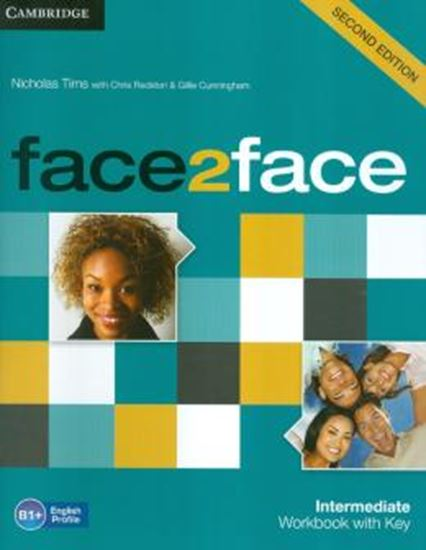 Picture of FACE2FACE INTERMEDIATE WORKBOOK WITH KEY - 2ND ED