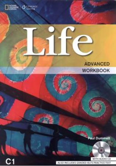 Picture of LIFE ADVANCED WITH DVD WB - BRITISH