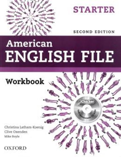 Picture of AMERICAN ENGLISH FILE STARTER WB WITH ICHECKER - 2ND ED