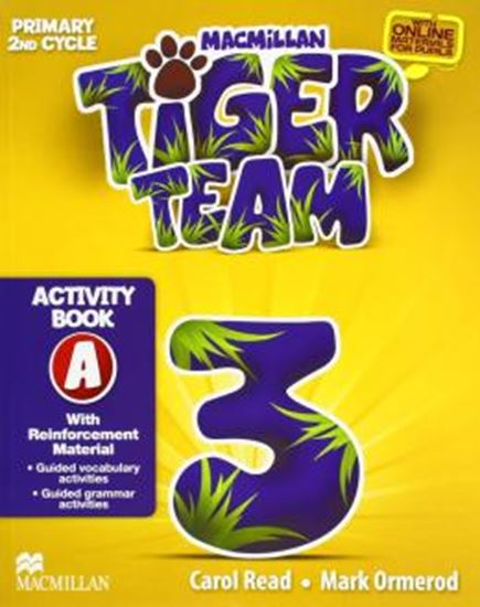 Picture of TIGER TEAM 3A ACTIVITY BOOK WITH PROGRESS JOURNAL