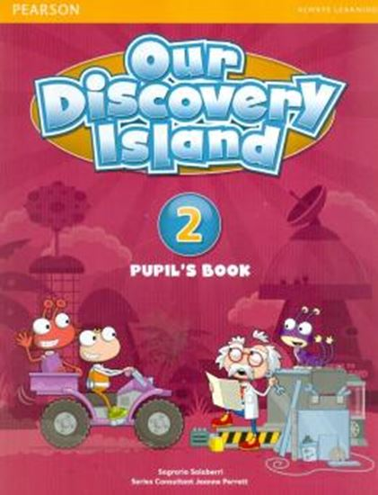 Picture of OUR DISCOVERY ISLAND 2 PUPILS BOOK (WITH PIN CODE)