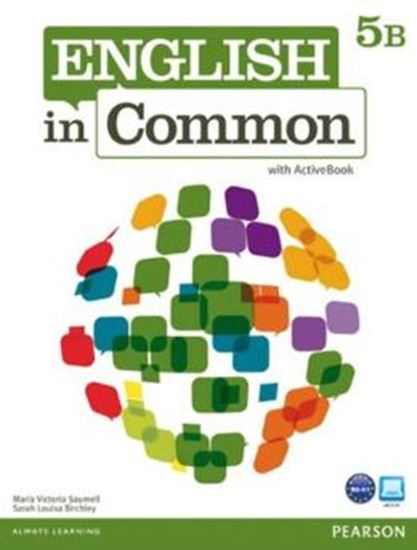 Picture of ENGLISH IN COMMON 5B SPLIT STUDENT BOOK WITH ACTIVEBOOK