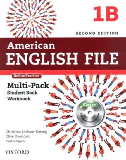 Picture of AMERICAN ENGLISH FILE 1B MULTIPACK WITH ONLINE PRACTICE AND ICHECKER - 2ND ED