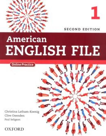 Picture of AMERICAN ENGLISH FILE 1 STUDENTS BOOK WITH ONLINE SKILLS - 2ND ED