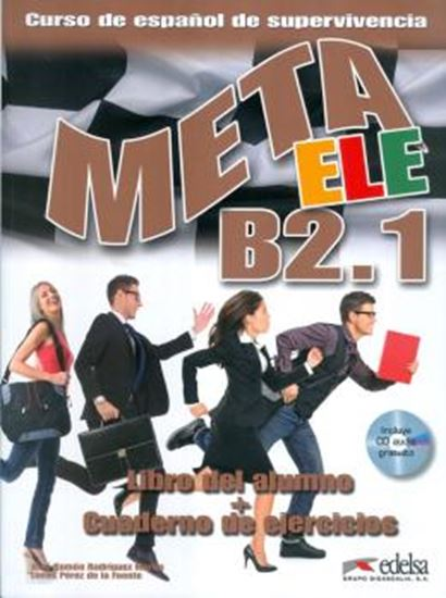 Picture of META ELE B2.1 - LIBRO DEL ALUMNO + CUADERNO DE EJERCICIOS