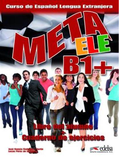 Picture of META ELE B1+ - LIBRO DEL ALUMNO + CUADERNO DE EJERCICIOS