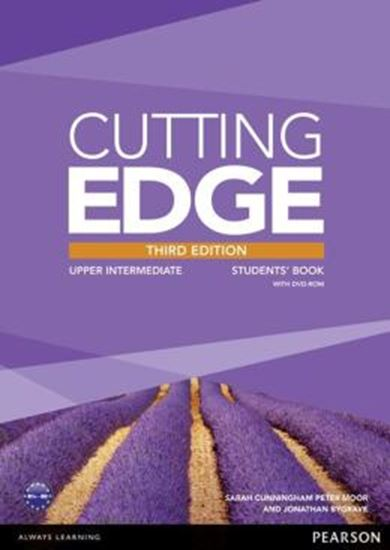 Picture of CUTTING EDGE UPPER INTERMEDIATE STUDENTS BOOK (WITH DVD) - 3RD ED