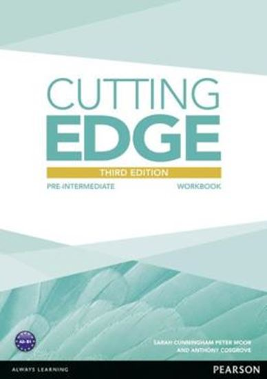 Picture of CUTTING EDGE PRE-INTERMEDIATE WORKBOOK (NO KEY) - 3RD ED