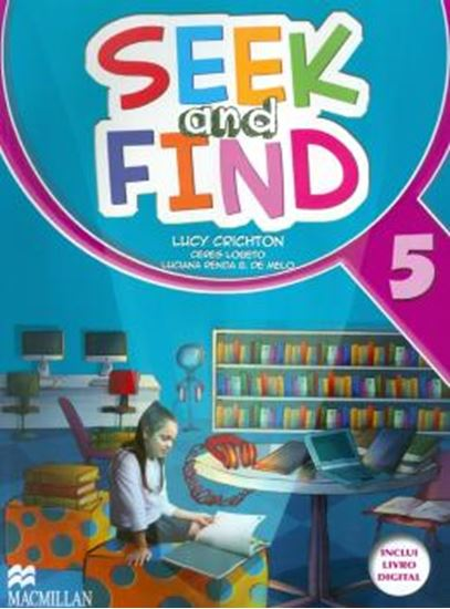 Picture of SEEK AND FIND 5 STUDENTS BOOK WITH MULTI ROM & DIGITAL BOOK