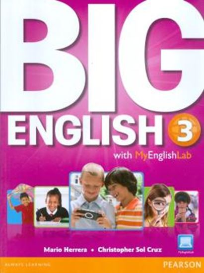 Picture of BIG ENGLISH 3 STUDENTS BOOK WITH MYENGLISHLAB