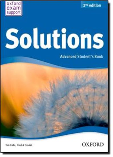Picture of SOLUTIONS ADVANCED STUDENT BOOK - 2ND ED
