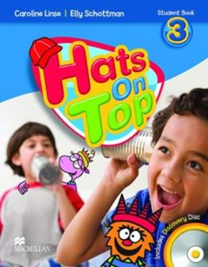 Picture of HATS ON TOP 3 STUDENTS BOOK AND DISCOVERY CD
