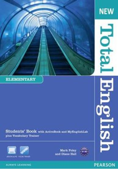 Picture of NEW TOTAL ENGLISH ELEMENTARY SB WITH ACTIVE BOOK CD-ROM & MYLAB - 2ND ED