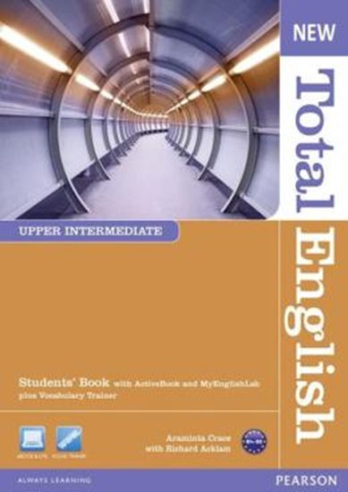 Picture of NEW TOTAL ENGLISH UPPER INTERMEDIATE SB (WITH ACTIVE BOOK CD-ROM) & MYLAB - 2ND ED
