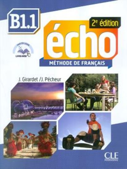 Picture of ECHO B1.1 - LIVRE D´ELEVE + DVD-ROM - 2ED EDITION