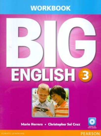 Picture of BIG ENGLISH 3 WORKBOOK WITH AUDIO CD