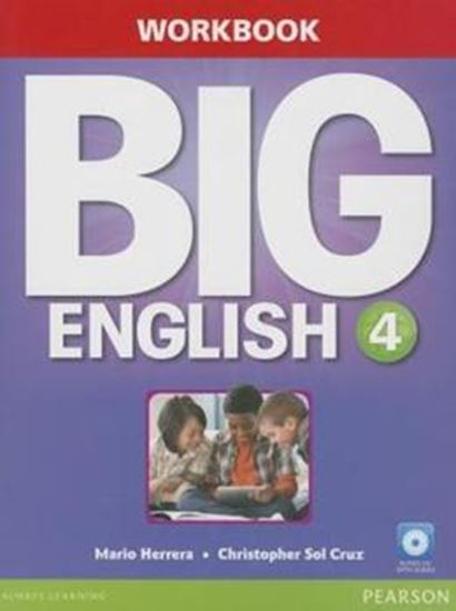 Picture of BIG ENGLISH 4 WORKBOOK WITH AUDIO CD